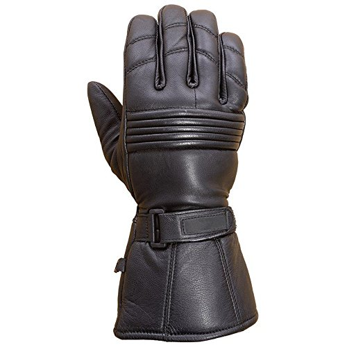 Long Motorcycle Gloves - 8