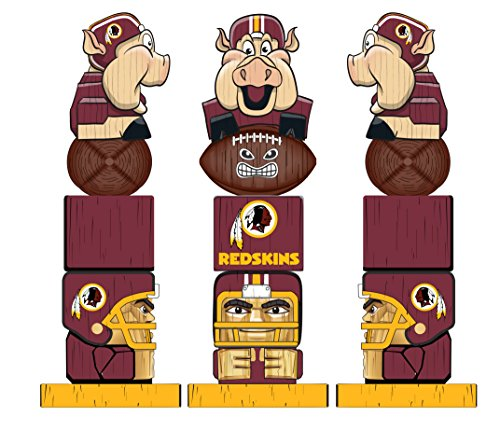 (Team Sports America NFL Washington Redskins Tiki Totem)