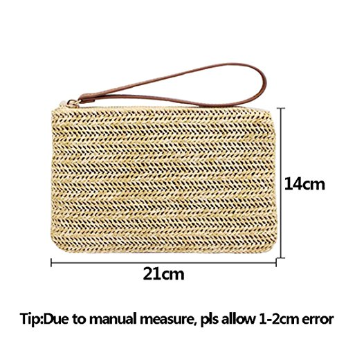 Gold Beach Lady Totalizador De Summer Travel Femeninas De Bolsos Embrague Messenger Bag Las Bags Mujeres Straw Punto Mini De Casual xBcavHxnW