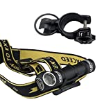 Armytek Wizard v3 XP-L USB Rechargeable NW Headlamp -1120Lm w/3200mAh Battery Included +Bike Mount