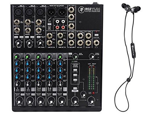 Mackie 802VLZ4 8-Channel Analog Low-Noise Mixer w/ 3 ONYX Preamps+Free Speaker