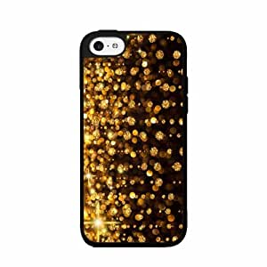 Gold Rain- Plastic Phone Case Back Cover iPhone 4 4s wangjiang maoyi by lolosakes
