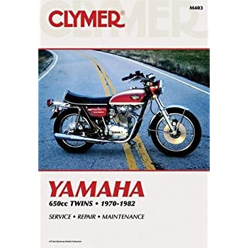 amazon com clymer repair manual for honda 400 450 twin 78 87 rh amazon com 1980 Honda CM400T Specs Honda CM400T Cafe Racer