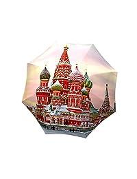 La Bella Umbrella Moscow Designer Umbrella Stick/Straight, Fiberglass Ribs