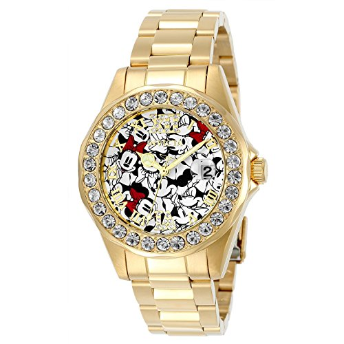 Invicta Disney Limited Edition Mickey Logo Dial Ladies Watch 24419