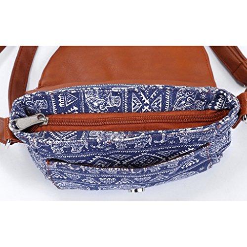Hobo Sac Senoow Crossbody 02 à Toile à Main Lady Sacs Messenger Femmes Vintage Bandoulière Bag Pn76xt7