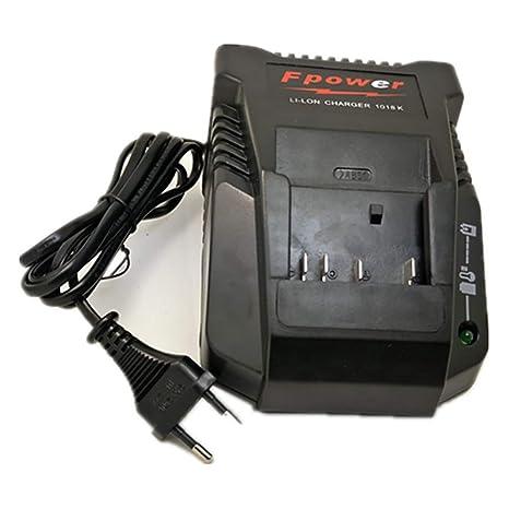 Amazon.com: 1018K Cargador para Bosch Taladro Electrico 14.4 ...