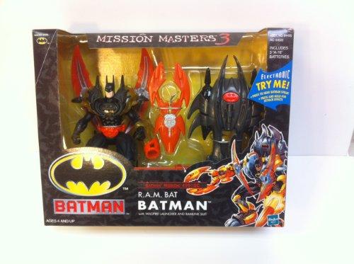 Mission Masters 3 Batman Electronic RAM Bat Batman