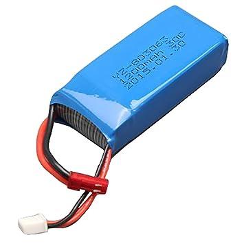 WayIn® Extra 7.4V 1200mAh Lipo batería para Yizhan Tarantula X6 ...