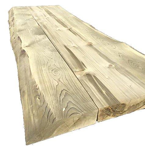 Farm de tronco mesa hojas 200 cm de 8 cm de grosor, hoja de mesa ...