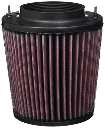 K&N Engine Air Filter: High Performance, Premium, Washable, Replacement Filter: 2007-2017 Audi V6/V8 (Q5, S5, SQ5, A5, A5 Quattro, S4, A4 Quattro) E-1987