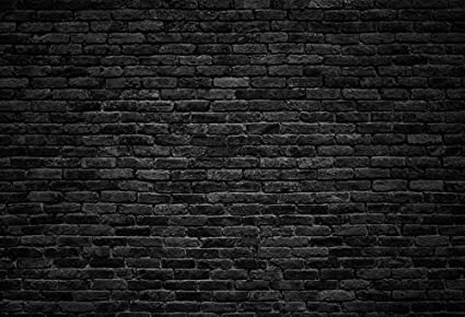 black stone wall texture wallpaper laeacco dark gray brick wall background photography backdrops for studio 7x5ft vinyl backdrop customized amazoncom