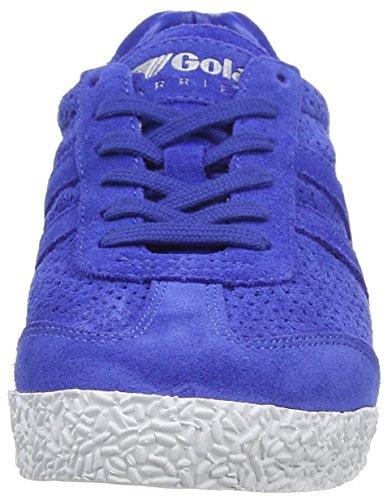 Gola Klassiker Kvinna Harrier Kvadrat Mode Sneakers Reflex Blue