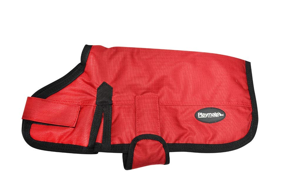 Red 65 cm Red 65 cm Playmate Dog Coat, Red (42649)