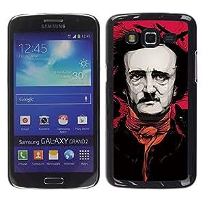 Paccase / SLIM PC / Aliminium Casa Carcasa Funda Case Cover - Pink Black Art Actor Writer Comedy - Samsung Galaxy Grand 2 SM-G7102 SM-G7105