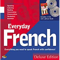 Everyday French Deluxe Edition (2 CDs & AA Essential Phrase Book)