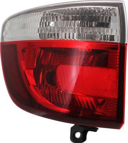 Crash Parts Plus Driver Left Side Tail Light Tail Lamp for 11-13 Dodge Durango