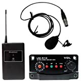 Phonic UM40-R/L-863 Wireless System with Dynamic Lavalier Mic