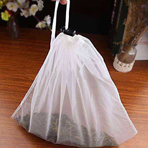 ForShop ナッツミルクバッグ 再利用可能 アーモンドミルクバッグ 商用食品グレード 上質ナイロンメッシュ フードストレーナー チーズメーカー コーヒー&ティーフィルター   B07KQX8LHB