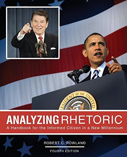 Read Online Analyzing Rhetoric: A Handbook for the Informed Citizen in a New Millennium - Text ebook
