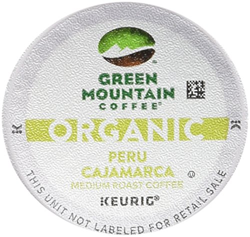 Green Mountain Coffee Organic Peru Cajamarca 10-0.45 oz, Net Wt 4.5 oz