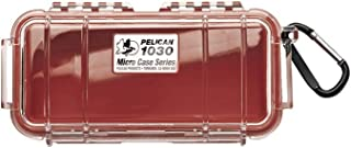product image for Pelican 1030 Micro Case (Red/Clear) (1030-028-100)