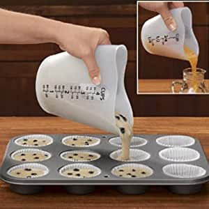 Love Shape High Temperature Resistance Silicone Measuring Cup