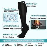 8 Pairs Compression Socks Women & Men -Best