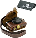 "MegaGear ""Ever Ready"" Protective Brown Leather Camera Case , Bag for Sony DSC-RX100 RX100 (NOT FOR RX100 M2)"