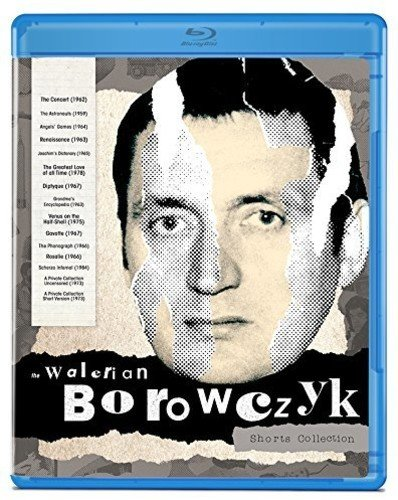 Blu-ray : The Walerian Borowczyk Shorts Collection (Blu-ray)