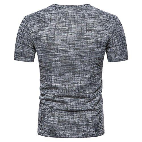 T Vintage Magliette Stretch Maglietta Manica Homebaby® shirt Uomo Casual Corta Corte Cotone Estivi Nero Particolari Estiva Tumblr Sportivi Maglione Camicia Elegante wx8qCA4