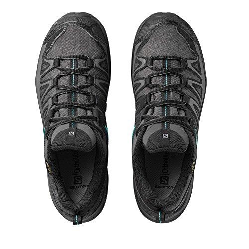 Femme Ultra 000 de Magnet X Atlantis GTX W Multicolore 3 Basses Salomon Black Chaussures Randonnée Prime vx1wC5Waq
