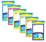 GD 7.4'' X 10.3'' Double Sided Dry Erase Learning Board w/ Marker & Eraser (Pack of 72)