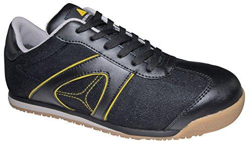 Delta Plus- D Spirit S1p Chaussures Basses Cuir Pleine Fleur/mesh Noir- S1p Src - Dspirspno43