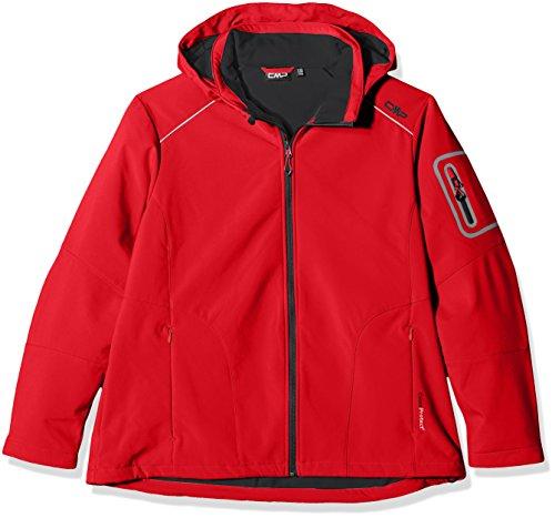 CMP - Chaqueta con capucha para mujer Ferrari/Nero