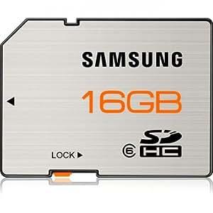 Samsung 16 GB SDHC Flash Memory Card, Brushed Metal -  MB-SSAGA/US