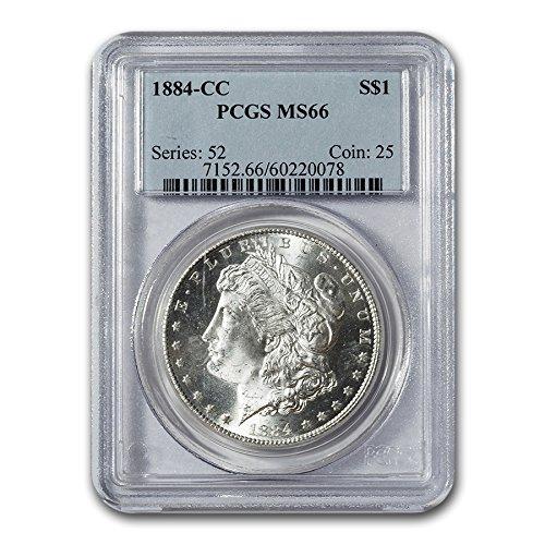 1884 CC Morgan Dollar MS-66 PCGS $1 MS-66 PCGS