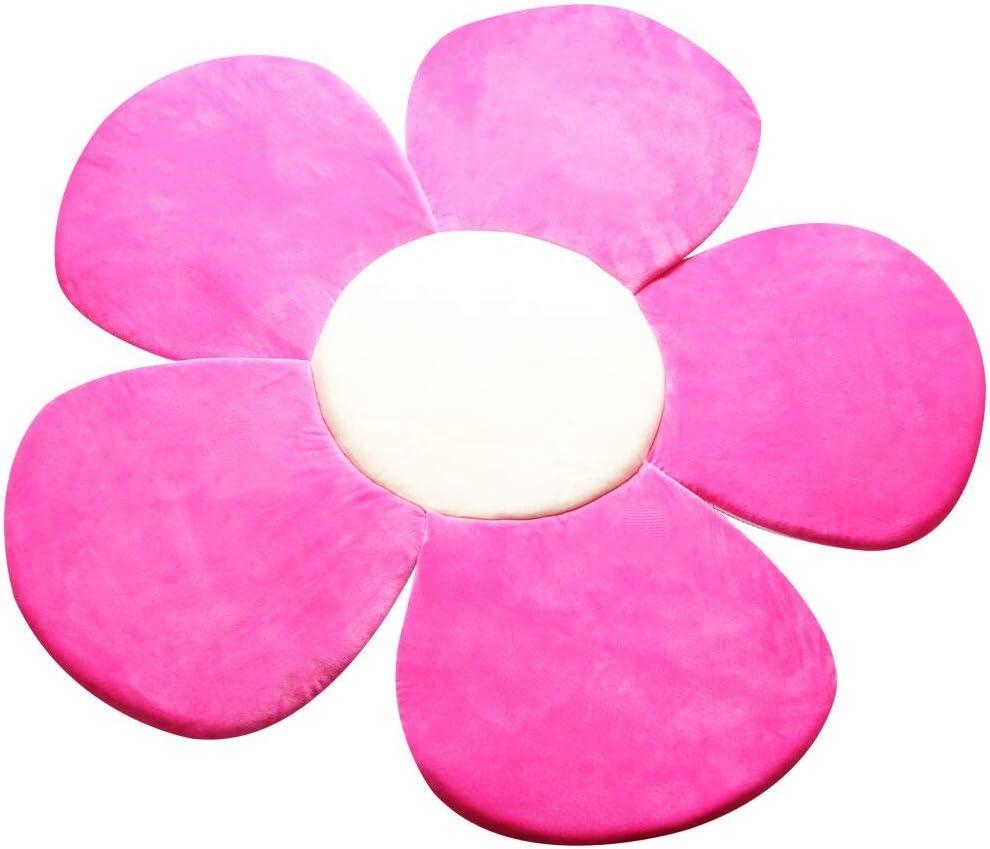 Kakiblin Coussin de bain pour b/éb/é Motif fleur de fleur pour b/éb/é 0-6 mois