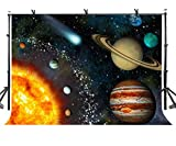 LYLYCTY 10x7ft Beautiful Solar System Backdrop LYLYCTY Beautiful Solar System Science Fantasy Photography Background and Studio Photography Backdrop Props LYNAN192