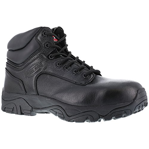 Iron Age Women's IA507 Trencher Fire and Safety Shoe, Black, 6 M US