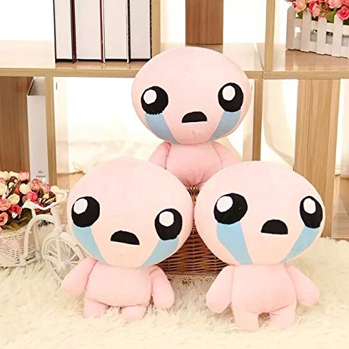 Amazon.com: 1pcs 25CM The Binding of Isaac Rebirth Game Character Isaac Plush Doll Stuffed Toys for kids christmas gift: Toys & Games