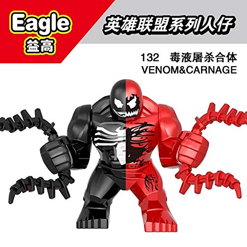 XH131 Venom Marvel Avengers Super Heroes Riot Thanos Carnage Hulk Action Figure Building Blocks Toys for Children 132