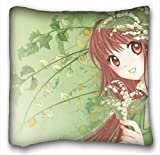 Custom Characteristic ( Anime Kobato ) DIY Pillow Cover Size 16