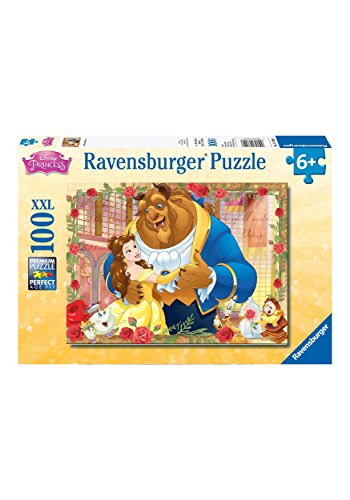 Ravensburger Disney Princess: Belle & Beast Puzzle Set (100 ()