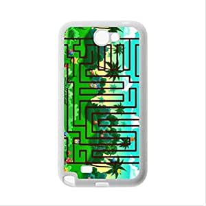 Best seller Personalized Design Case - Maze Samsung Galaxy Note2 N7100 Plastic and TPU Case, Cell Phone Cover hjbrhga1544
