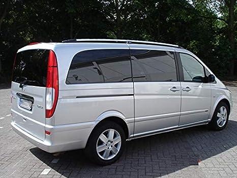 Barres de Toit pour Mercedes Vito et Viano Compact W639 /à partir de 2004 Noir avec T/ÜV et ABE