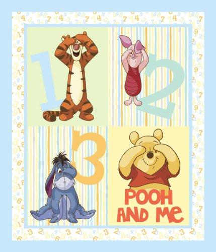 Springs Creative - Fabric Disney Pooh Nursery