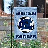 North Carolina Tar Heels Soccer Garden Flag and Yard Banner