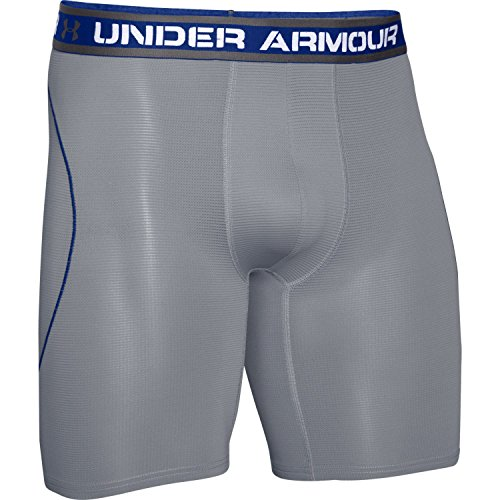 Under Armour Iso-Chill 9'' Boxerjock Boxer Brief, XXL, Graphite