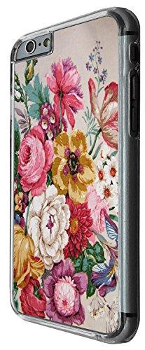 1333 - Cool Fun Trendy cute kwaii flower floral collage wallpaper Design iphone 4 4S Coque Fashion Trend Case Coque Protection Cover plastique et métal - Clear
